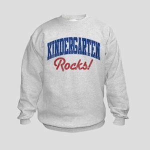 KINDERGARTEN ROCKS! Kids Sweatshirt