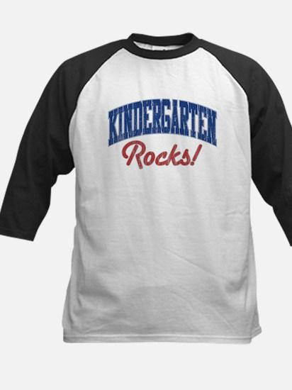 KINDERGARTEN ROCKS! Kids Baseball Jersey