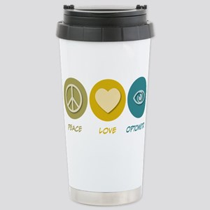 Peace Love Optometry Mugs