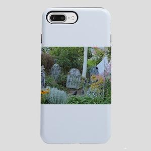 Goth garden grave yard iPhone 8/7 Plus Tough Case