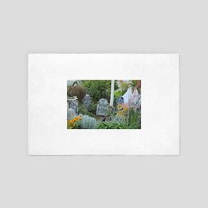 Goth garden grave yard 4' x 6' Rug