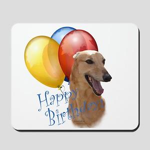 Greyhound Balloon Mousepad