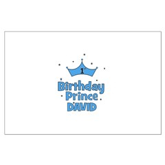1st Birthday Prince David! Posters