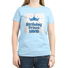 1st Birthday Prince David! Women's Light T-Shirt