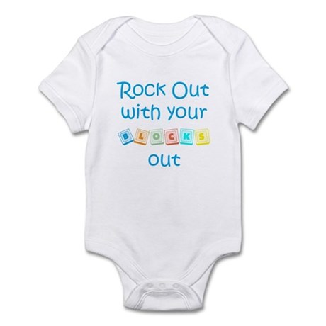 Rock Out With Your Blocks Out Infant Bodysuit