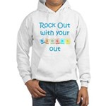 Rock Out With Your Blocks Out Hooded Sweatshirt