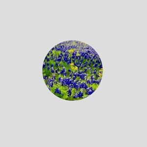 Hillside Bluebonnets Mini Button