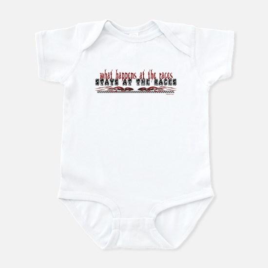 At The Races Infant Bodysuit