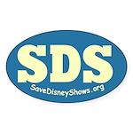 SDS Oval Sticker