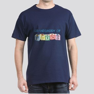 Granddaddy of Twins Blocks Dark T-Shirt