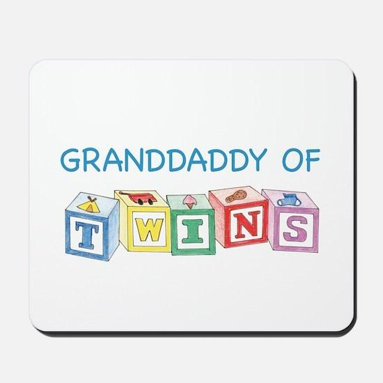 Granddaddy of Twins Blocks Mousepad