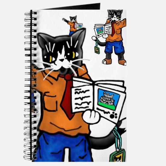 Tour guide Cats Journal