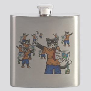 Tour guide Cats Flask