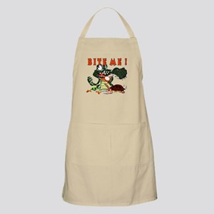 Bite me ! Alligator BBQ Apron