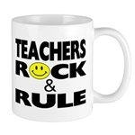Teachers Rock & Rule Mug Mugs