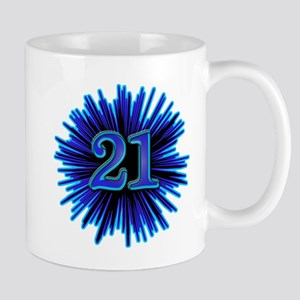 21st Blue Spray Mug