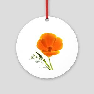 Golden Poppy Keepsake (Round)