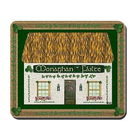 Monaghan Irish Cottage Mousepad
