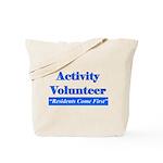 Activity Volunteer - RCF.png Tote Bag