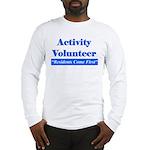 Activity Volunteer - RCF.png Long Sleeve T-Shirt