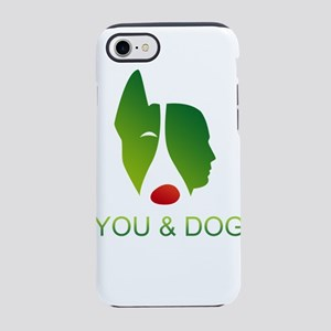 you and dog iPhone 8/7 Tough Case