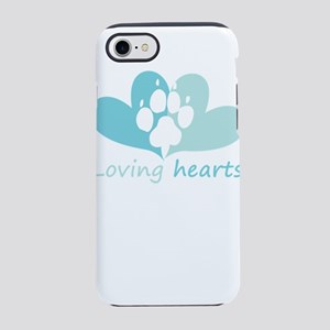 lovign hearts iPhone 8/7 Tough Case
