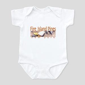 Beach Fire Island Pines Infant Bodysuit