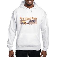 Beach Fire Island Pines Hoodie