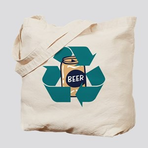Recycle Beer Tote Bag