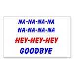 SPORTS CHANT Rectangle Sticker 10 pk)