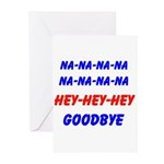 SPORTS CHANT Greeting Cards (Pk of 10)