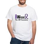 Hodgkin's Survivors White T-Shirt