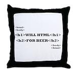 Html Throw Pillow