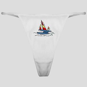 Sailboats Classic Thong