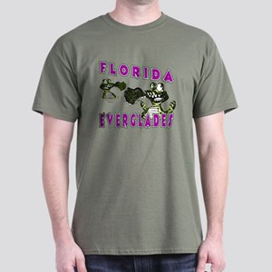 Florida Everglades Alligators Dark T-Shirt