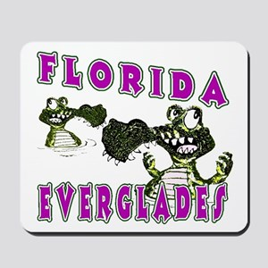 Florida Everglades Alligators Mousepad