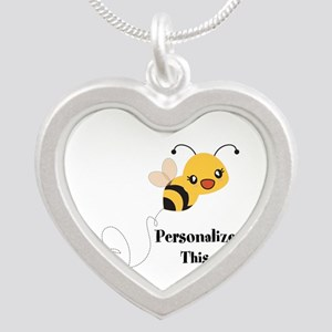 Personalized Cute Bumble Bee Necklaces