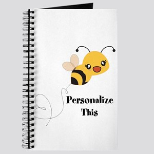 Personalized Cute Bumble Bee Journal