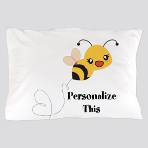 Personalized Cute Bumble Bee Pillow Case