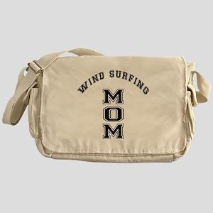 Wind Surfing Mom Messenger Bag