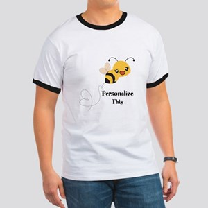 Personalized Cute Bumble Bee T-Shirt