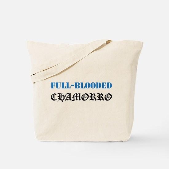 Full-Blooded Chamorro Tote Bag