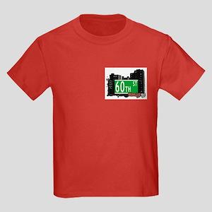60th STREET, BROOKLYN, NYC Kids Dark T-Shirt