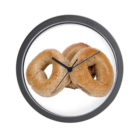 Some Bagels On Your Wall Clock