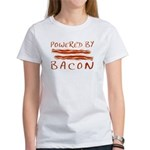 Powered By Bacon Women's T-Shirt
