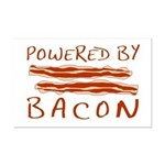 Powered By Bacon Mini Poster Print