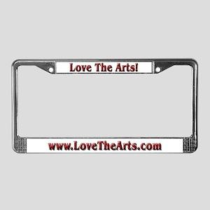 Fishin Musician License Plate Frame