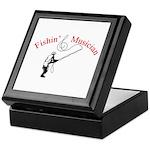 Fishin Musician Keepsake Box