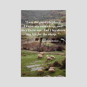 The Good Shepherd Rectangle Magnet