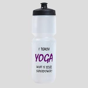 teach yoga Sports Bottle